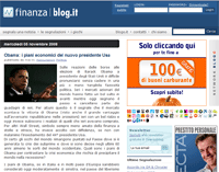 Homepage - Finanza blog.it
